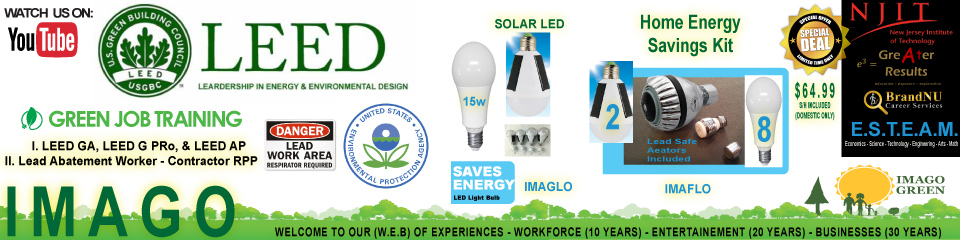 IMAGO GREEN – LEAD (EPA) SOLAR LED LIGHTS –